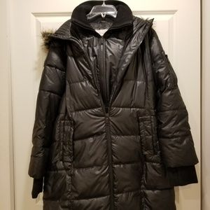 BCBGeneration two layer puffer jacket